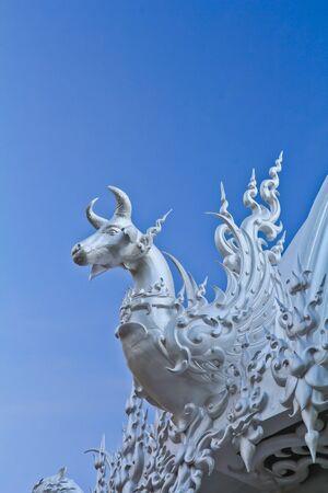 Wat Rong Khun in Thailand photo