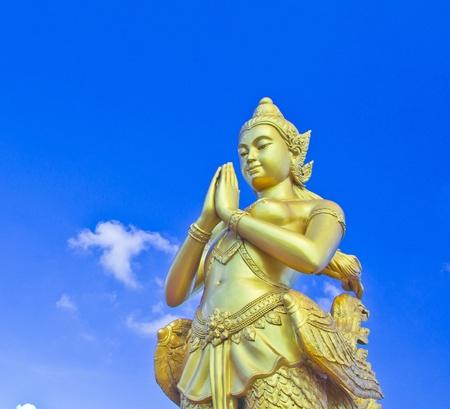Kinnara in Thailand photo