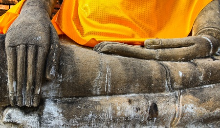 Ancient temple at Ayutthaya in Thailand Stock Photo - 13208823