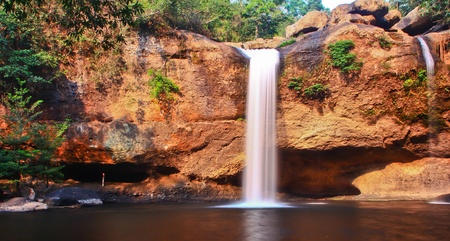 Waterfall in Thailand Stock Photo - 13296486