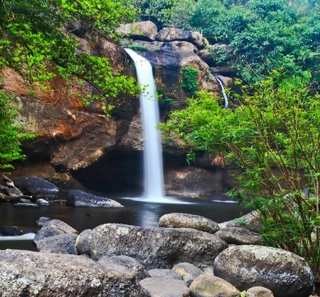 Waterfall in Thailand Stock Photo - 13296490