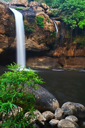 Waterfall in Thailand Stock Photo - 13296523