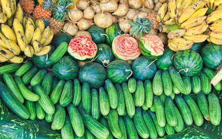 Fruit carving photo