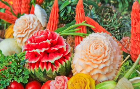 Fruit carving Stock Photo - 13329821