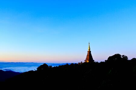 Relics Doi Inthanon in thailand Stock Photo - 13426063
