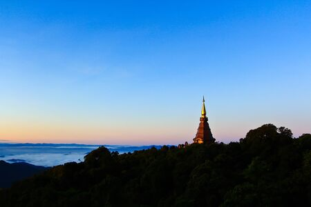 Relics Doi Inthanon in thailand Stock Photo - 13426074