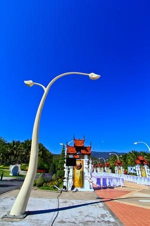 Light poles photo