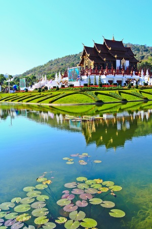 Horkumluang in Chiang Mai Province Thailand  photo