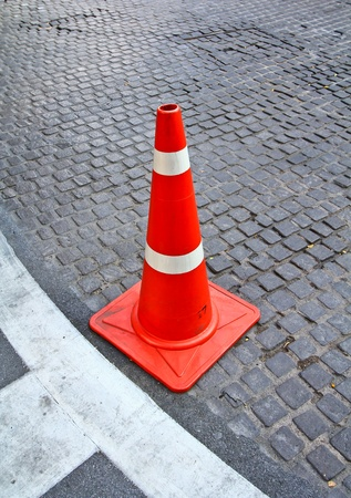Rubber cone Stock Photo - 13427499