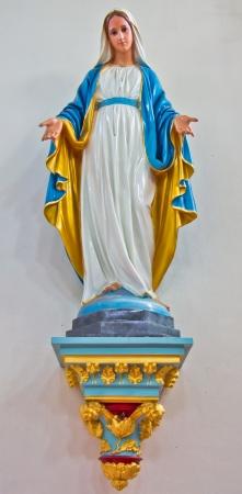 virgen maria: religi�n Foto de archivo