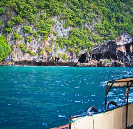 Koh Phi Phi island in thailand photo