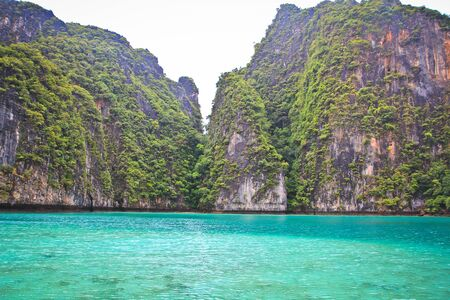 Koh Phi Phi island in thailand photo