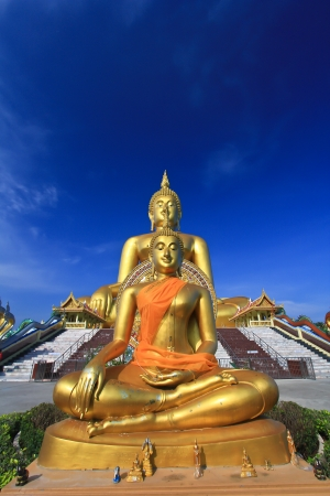 Big buddha statue at Wat muang, Thailand  photo