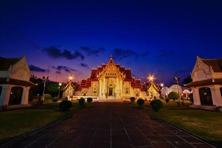 Temple Wat Benchamabophit , Bangkok, Thailand  photo