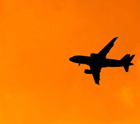 Aircraft Sunset  photo