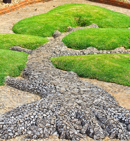 Landscaping garden photo