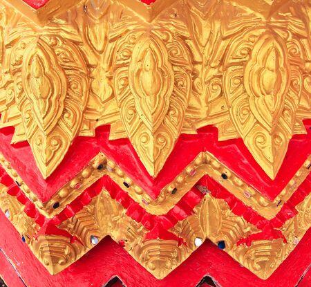 artistic designed: Thai art in temple