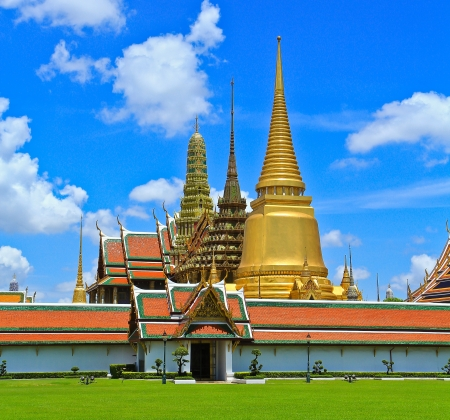 Ват Пхра Кео, храм Изумрудного Будды, Бангкок, Таиланд