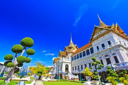 Тайский храм Большого королевского дворца в Бангкоке, Таиланд