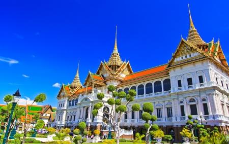 Thai temple The Royal Grand Palace, Bangkok, Thailand  Editorial