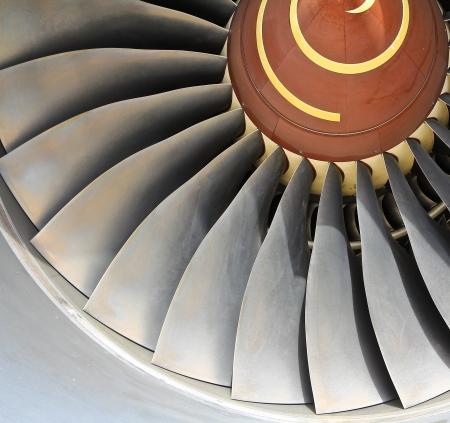 turbofan: Aircraft jet engine detail