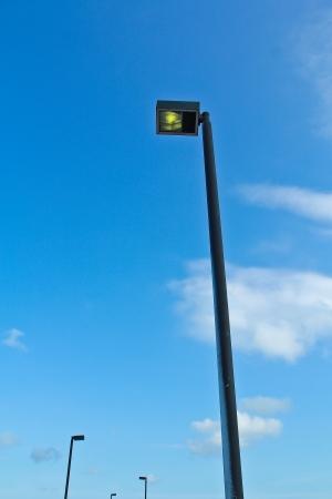 Pillar of Fire Street lighting photo