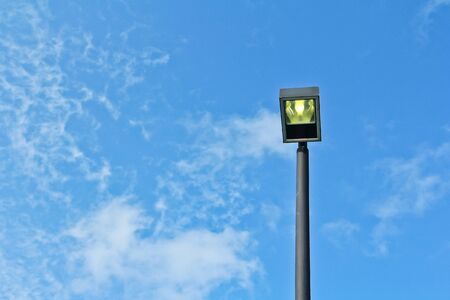 Pillar of Fire Street lighting Stock Photo - 14884740