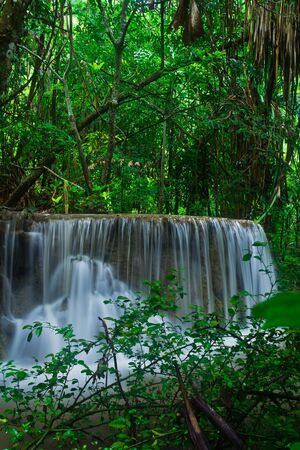 Waterfall in the forest asia thailand Stock Photo - 15868986