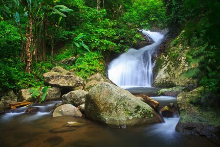 Waterfall in the forest asia thailand Stock Photo - 15870109