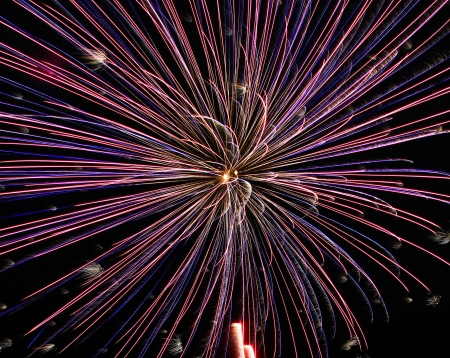 Beautiful fireworks  photo