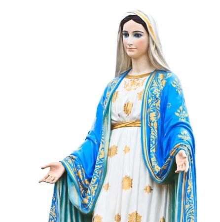 milagro: Virgen Mar�a Estatua delante de la catedral de la Inmaculada Concepci�n