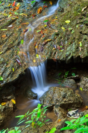 waterfall in the Forest National park thailand  Stock Photo - 16327640