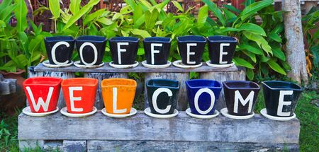 welcome to coffee asia thailand  photo