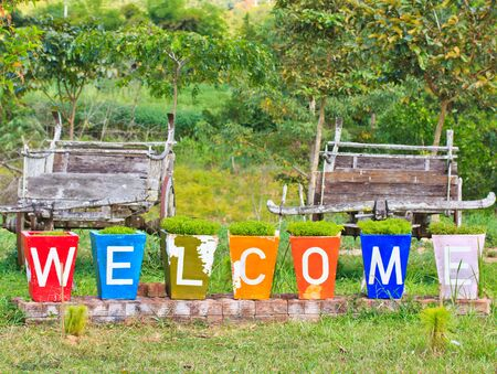 welcome to asia thailand photo