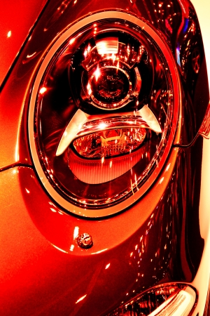Car Headlight photo