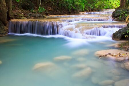 Waterfall beautiful asia thailand Stock Photo - 16929466