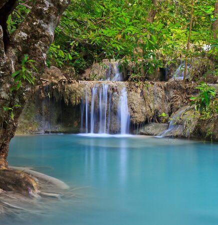 Waterfall beautiful asia thailand Stock Photo - 16929145