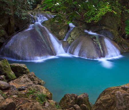 Waterfall beautiful asia thailand Stock Photo - 16929147