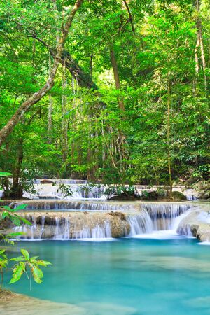 Waterfall beautiful asia thailand  photo