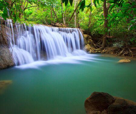Waterfall beautiful asia thailand Stock Photo - 16940176