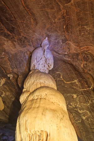 caves in National park thailand  photo