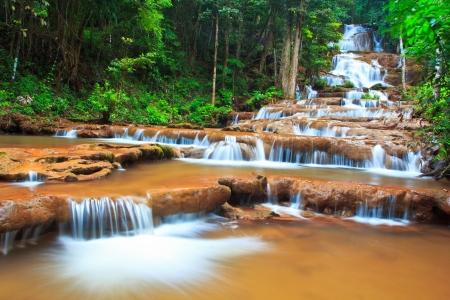 Waterfall beautiful asia Thailand  Stock Photo - 17144469