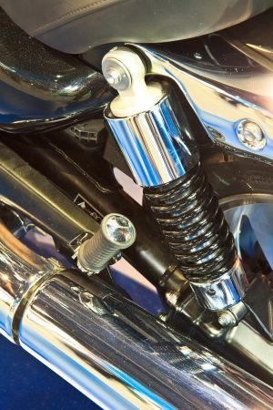 Motorcycle engine  photo
