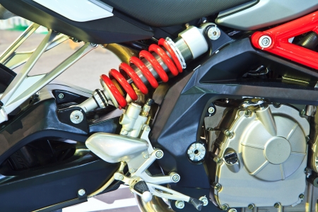 Shock Absorber s motorcycle Stock Photo - 17147690