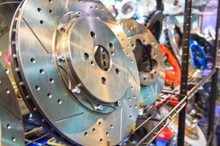 brake disc: New brake disc  Stock Photo