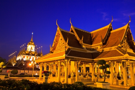 Temple wat in bangkok thailand photo