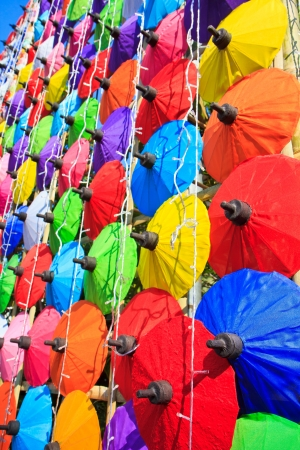 Asian umbrella s handmade umbrella  photo