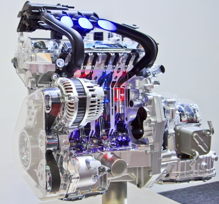Новый двигатель новый автомобиль