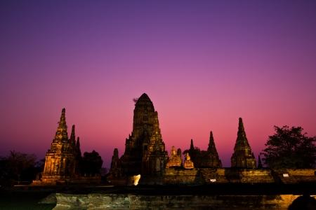 ayuthaya: Temple wat Chaiwatthanaram of Ayuthaya Province Thailand