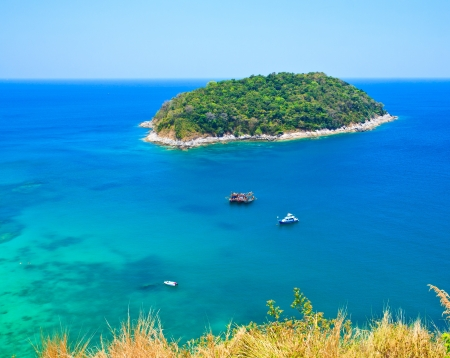 southern of thailand: Island Phuket in southern Thailand Stock Photo